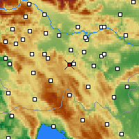 Nearby Forecast Locations - Velike Lašče - Mapa