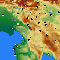 Nearby Forecast Locations - Vipava - Mapa