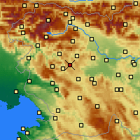 Nearby Forecast Locations - Žiri - Mapa
