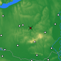 Nearby Forecast Locations - Dombóvár - Mapa