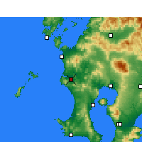 Nearby Forecast Locations - Satsumasendai - Mapa