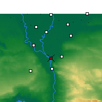 Nearby Forecast Locations - Shubra El-Kheima - Mapa