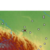Nearby Forecast Locations - Santa Fe de Yapacaní - Mapa
