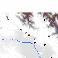 Nearby Forecast Locations - Lahuachaca - Mapa