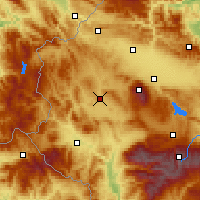Nearby Forecast Locations - Radomir - Mapa