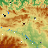 Nearby Forecast Locations - Estella - Mapa