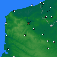Nearby Forecast Locations - Longuenesse - Mapa