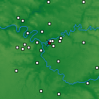 Nearby Forecast Locations - Villiers-sur-Marne - Mapa