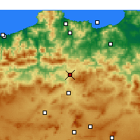 Nearby Forecast Locations - Didouche Mourad - Mapa