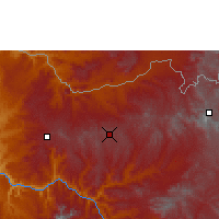 Nearby Forecast Locations - Axum - Mapa