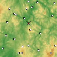 Nearby Forecast Locations - Homberg (Efze) - Mapa