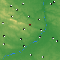 Nearby Forecast Locations - Opatów - Mapa