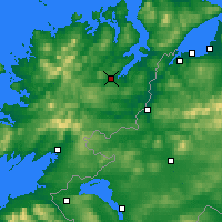 Nearby Forecast Locations - Letterkenny - Mapa