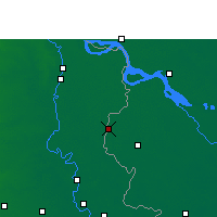 Nearby Forecast Locations - Meherpur - Mapa