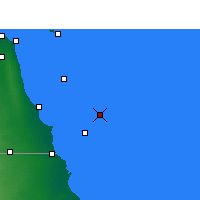 Nearby Forecast Locations - Garoh Island - Mapa