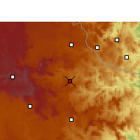 Nearby Forecast Locations - Dumbe - Mapa