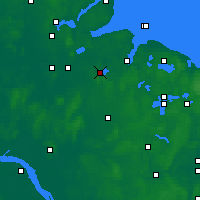 Nearby Forecast Locations - Westensee - Mapa