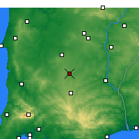 Nearby Forecast Locations - Castro Verde - Mapa
