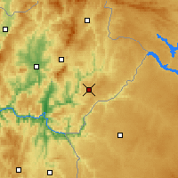 Nearby Forecast Locations - Mogadouro - Mapa