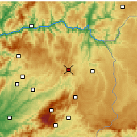 Nearby Forecast Locations - Trancoso - Mapa