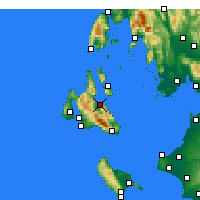 Nearby Forecast Locations - Sami - Mapa
