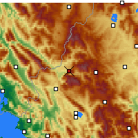 Nearby Forecast Locations - Konitsa - Mapa