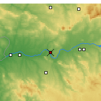 Nearby Forecast Locations - Mérida - Mapa