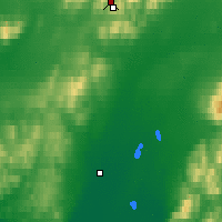 Nearby Forecast Locations - Red Dog Mine - Mapa