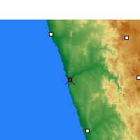 Nearby Forecast Locations - Kleinzee - Mapa