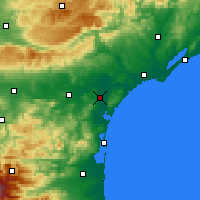 Nearby Forecast Locations - Narbona - Mapa