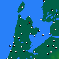 Nearby Forecast Locations - Wieringerwerf - Mapa