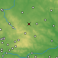 Nearby Forecast Locations - Obiechów - Mapa