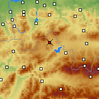 Nearby Forecast Locations - Sihelné - Mapa