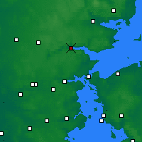 Nearby Forecast Locations - Vejle - Mapa