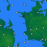 Nearby Forecast Locations - Kalundborg - Mapa