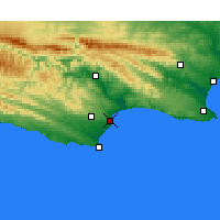 Nearby Forecast Locations - Baía de Jeffreys - Mapa