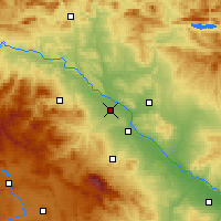 Nearby Forecast Locations - Alfaro - Mapa