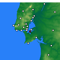 Nearby Forecast Locations - Barreiro - Mapa