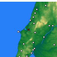 Nearby Forecast Locations - Caldas da Rainha - Mapa