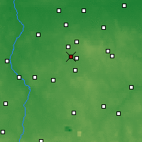 Nearby Forecast Locations - Konstantynów Łódzki - Mapa
