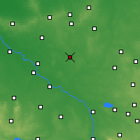 Nearby Forecast Locations - Namysłów - Mapa