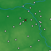 Nearby Forecast Locations - Pruszków - Mapa