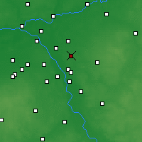 Nearby Forecast Locations - Sulejówek - Mapa