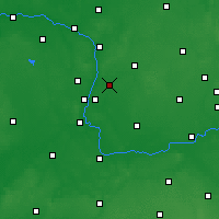 Nearby Forecast Locations - Swarzędz - Mapa