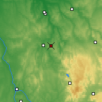 Nearby Forecast Locations - Saint-Fargeau - Mapa