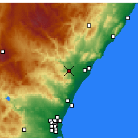 Nearby Forecast Locations - Onda - Mapa