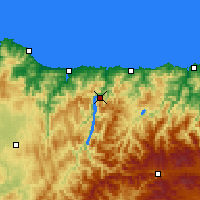 Nearby Forecast Locations - Castrillón - Mapa