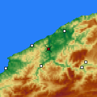 Nearby Forecast Locations - Çaycuma - Mapa