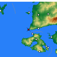 Nearby Forecast Locations - Babakale - Mapa