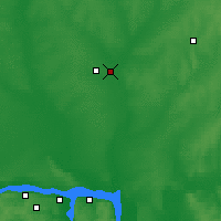 Nearby Forecast Locations - Iochkar-Ola - Mapa
